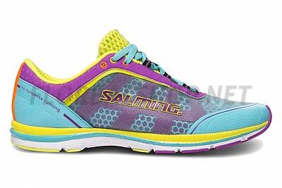 Salming Speed 3 Shoe Women Turquoise/Purple