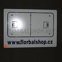 Trenérská tabulka Florbalshop.cz A4 oboustranná