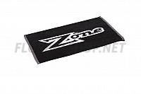 ZONE ručník Mega black/white 60x35cm 18/19