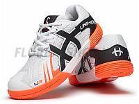 Unihoc U3 Junior white/orange florbalová obuv