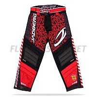Jadberg Target Pants Red brankářské kalhoty