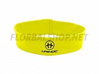 Unihoc čelenka Wrapper mid neon yellow
