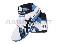 Unihoc U3 Goalie white/blue brankářské boty