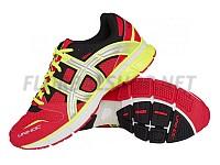 Unihoc U3 Runner TRX neon red běžecká obuv