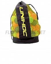 Unihoc Ballbag black-neon yellow