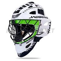 Jadberg Reaver 3 White-Green brankářská maska