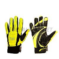 PRECISION brankářské rukavice black/yellow SR