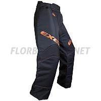 EXEL S60 brankářské kalhoty black/orange JR