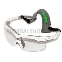 EXEL HURRICANE white/neon green SR ochranné brýle