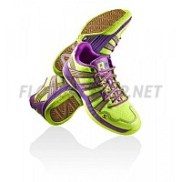 Salming Race R5 3.0 Safety Yellow/Purple sálová obuv