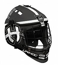 Unihoc brankářská maska Shield black/white