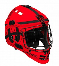 Unihoc brankářská maska Shield red/black