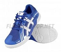 Unihoc U3 JR blue/white florbalová obuv