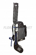 FATPIPE Classic Stick BackPack black/blue/grey 17/18