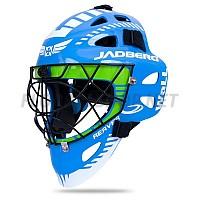 Jadberg Reaver 2 Blue-Lime brankářská maska