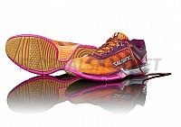 Salming Viper 4 Women Purple/Orange sálová obuv