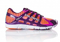 Salming Speed 5 Shoe Women Shocking Orange/Dark Orchid