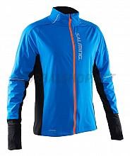 Salming Run Thermal Wind Jkt Men Electric Blue/Black