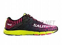 Salming Speed 6 Shoe Women Fluo Pink/Flou Yellow