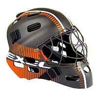 EXEL S80 HELMET SR/JR black/orange brankářská maska