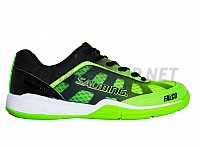 SALMING Falco Junior New Fluo Green/Black sálová obuv