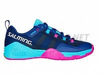 SALMING Kobra 2 Women Limoges Blue/Pink Jewel sálová obuv