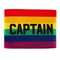 SALMING Team Captain Armband Rainbow kapitánská páska