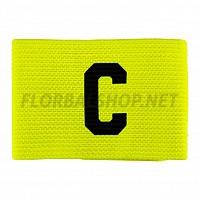 SALMING Team Captain Armband Safety Yellow kapitánská páska