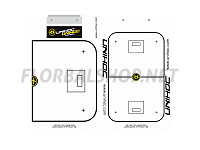 Unihoc Tactic Board 24x40 cm s fixem