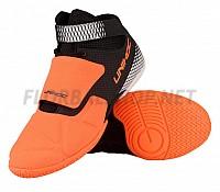 Unihoc U4 Goalie neon orange/black brankářská obuv