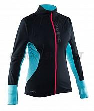 Salming Run Thermal Wind Jkt Women Black/Turquoise