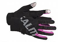 Salming Running Gloves Women Black/Pink