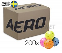 Salming míčky Aero Ball Colour 200 Box
