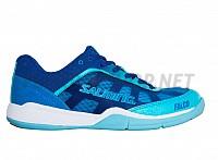 SALMING Falco Women Limoges Blue/Blue Atol sálová obuv 18/19
