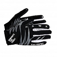 Salming brankářské rukavice Hawk Goalie Gloves Black/Grey 18/19