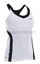 Salming tílko Strike Tank Top Wmn White/Black