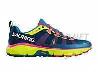 Salming Trail 5 Shoe Women Blue/Flou Yellow