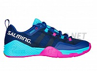 SALMING Kobra 2 Women Limoges Blue/Pink Jewel sálová obuv 18/19