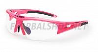 Salming ochranné brýle V1 Prot Eyewear JR Knockout Pink 18/19