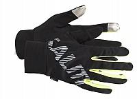 Salming Running Gloves Men Black/Yellow