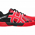 Unihoc U3 Junior red/black florbalová obuv