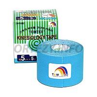 TEMTEX kinesio tape Classic, modrá tejpovací páska 5cm x 5m