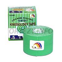 TEMTEX kinesio tape Classic, zelená tejpovací páska 5cm x 5m