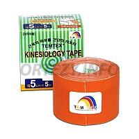 TEMTEX kinesio tape Tourmaline, oranžová tejpovací páska 5cm x 5m