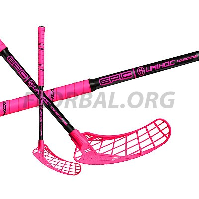 UNIHOC Epic Youngster 36 cerise/black 16/17