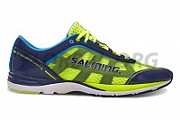 Salming Distance 3 Shoe Men Navy/Safety Yellow