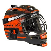EXEL S60 HELMET JR black/orange brankárska maska