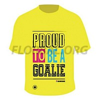 BlindSave tričko Proud To Be A Goalie