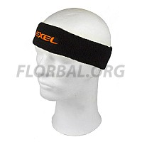 EXEL čelenka HEADBAND black/neon orange 18/19
