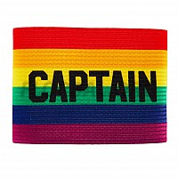 SALMING Team Captain Armband Rainbow kapitánska páska